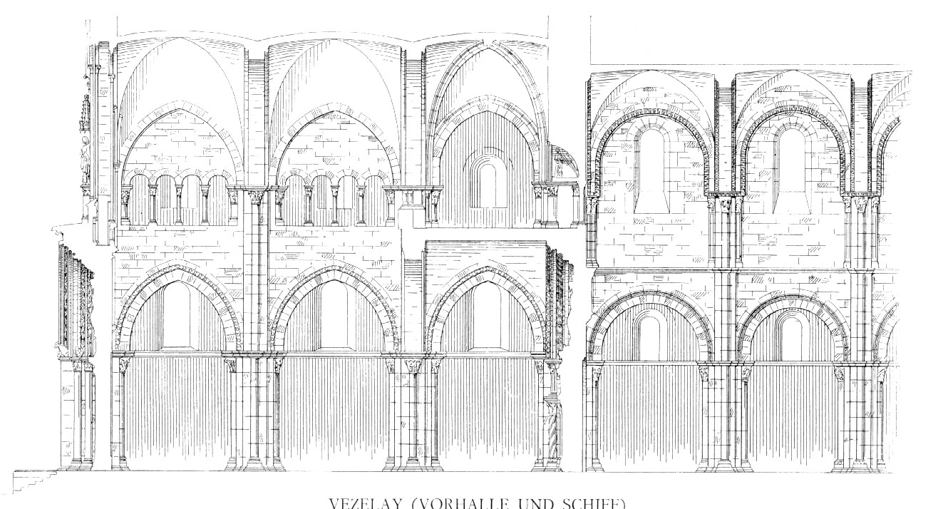 Medieval V 233 Zelay Plans And Drawings