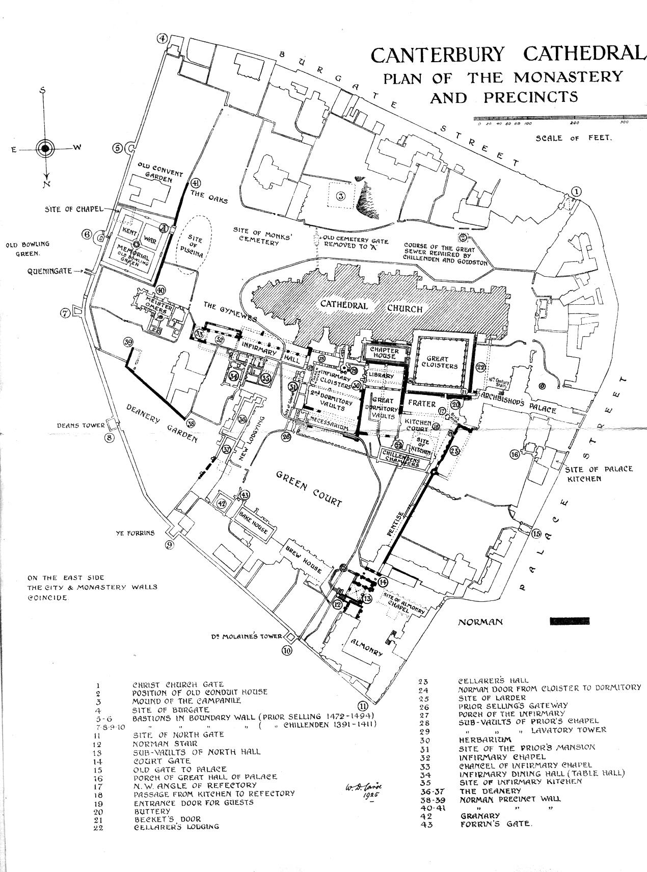 Medieval canterbury for Canterbury floor plan