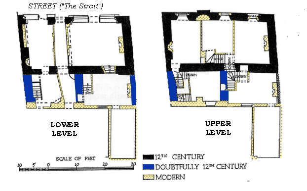 Medieval lincoln other medieval architecture for Medieval house plans