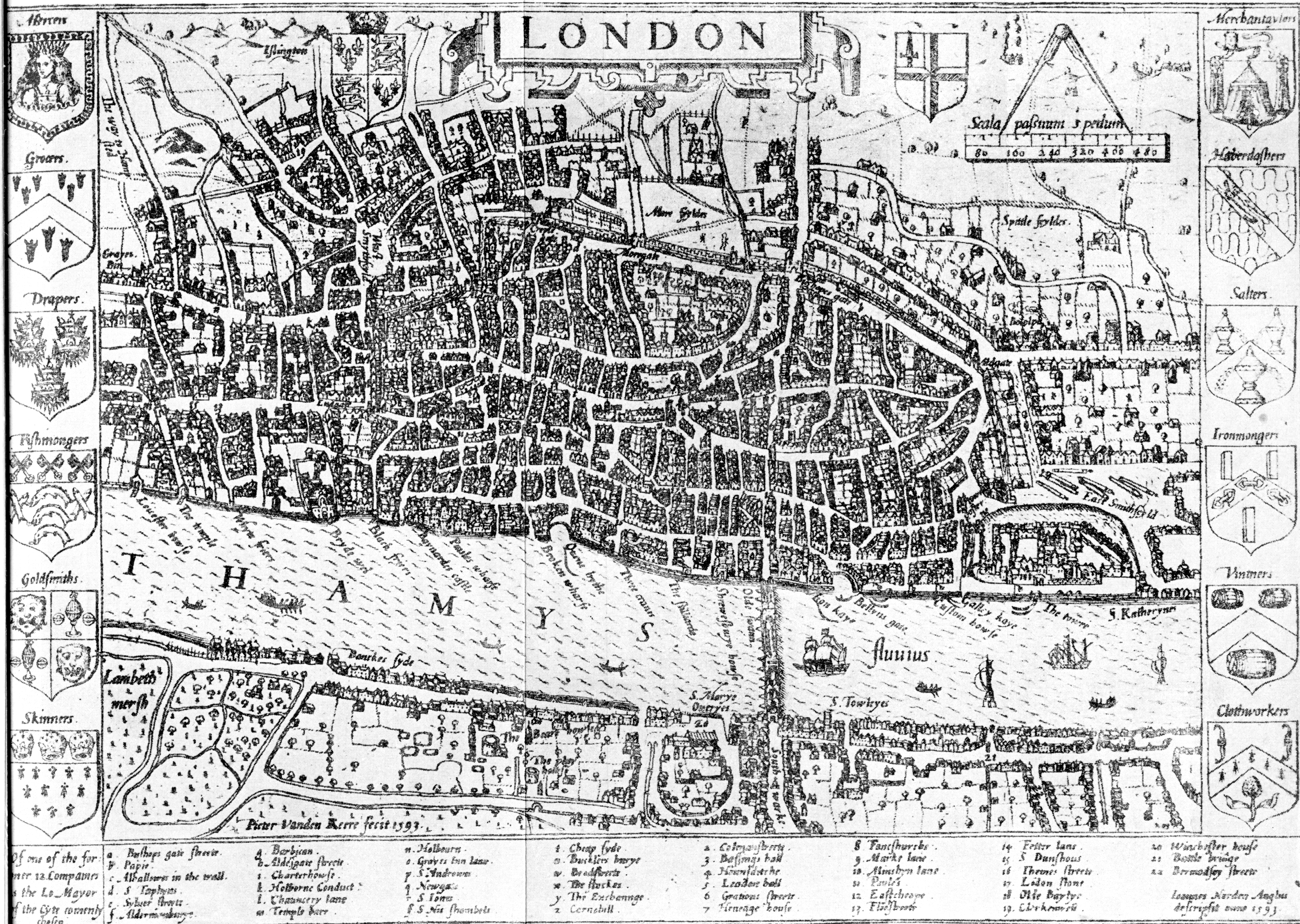 Map Of England 850.Medieval London Maps