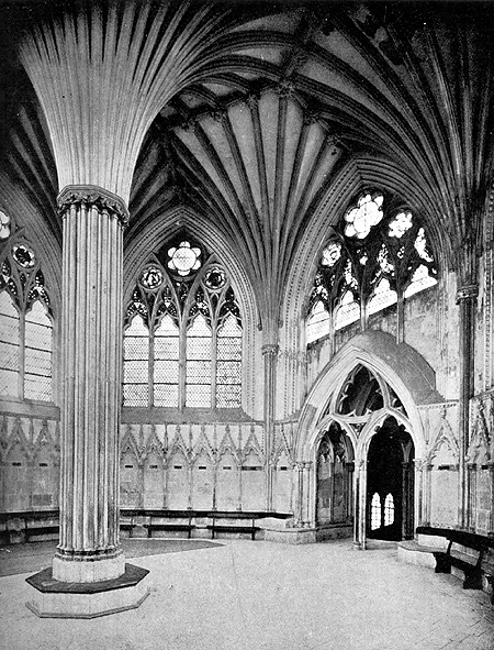 Gothic Architecture Interior Drawings Adapted From Bond Gothic