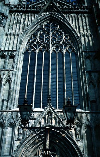 Medieval york minster exterior for West window york minster
