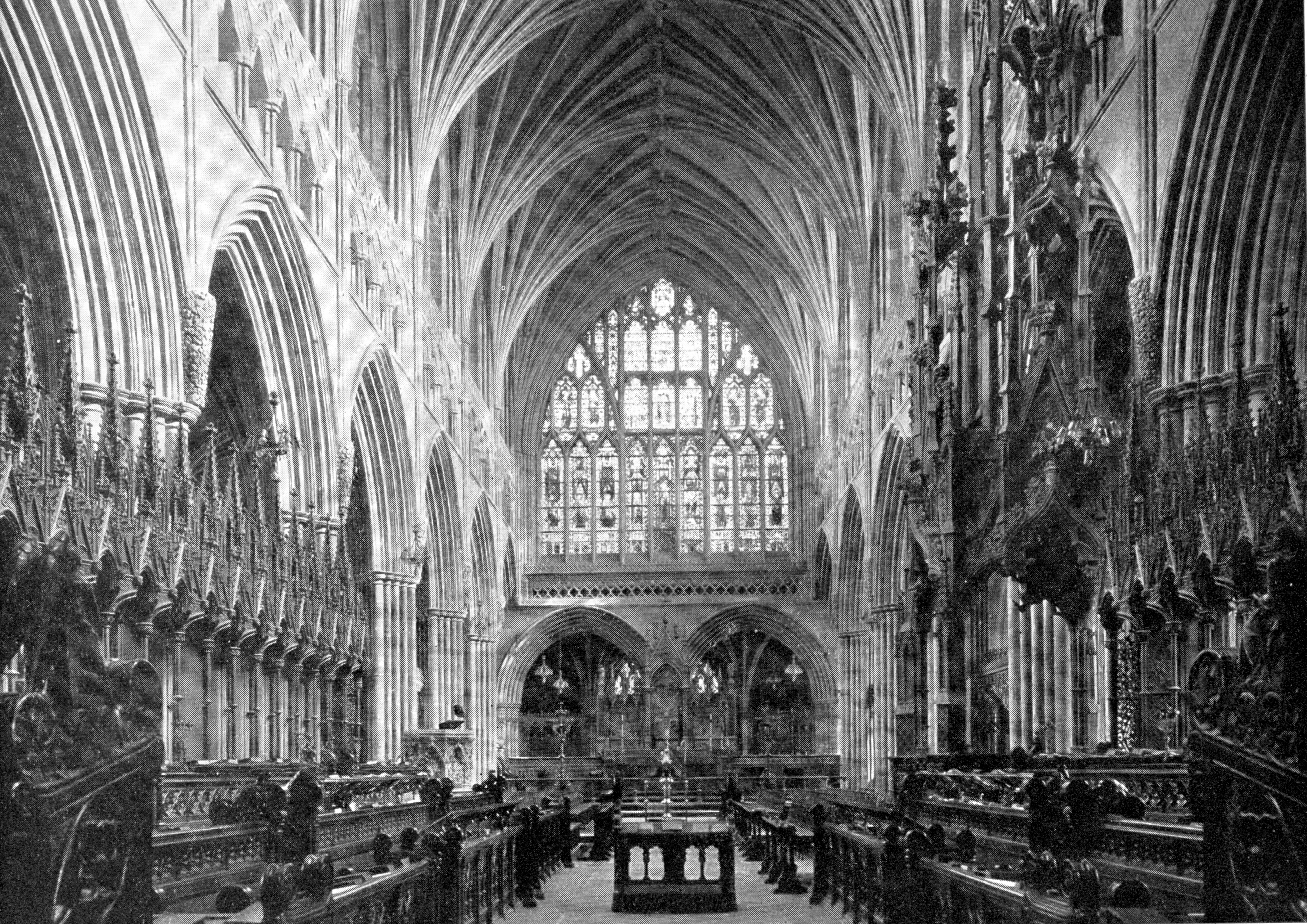 Medieval exeter- Cathedral