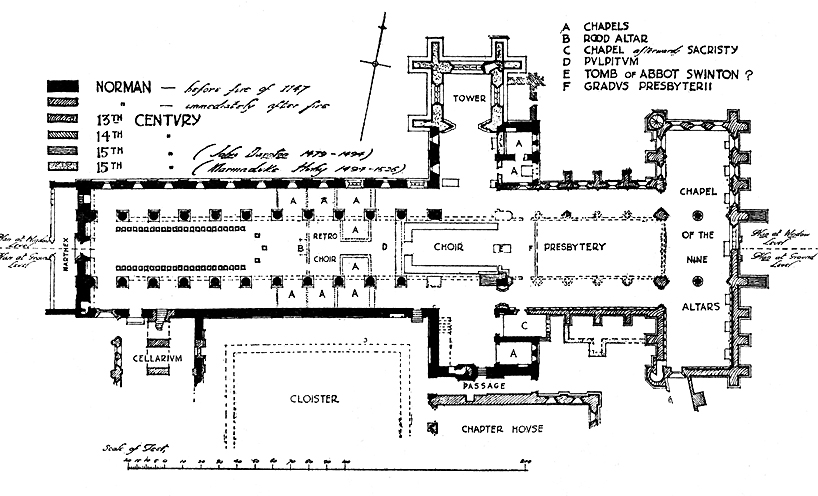 Canterbury Cathedral Floor Plan as well Romanesque Church Floor Plan ... Canterbury Cathedral Gothic Architecture