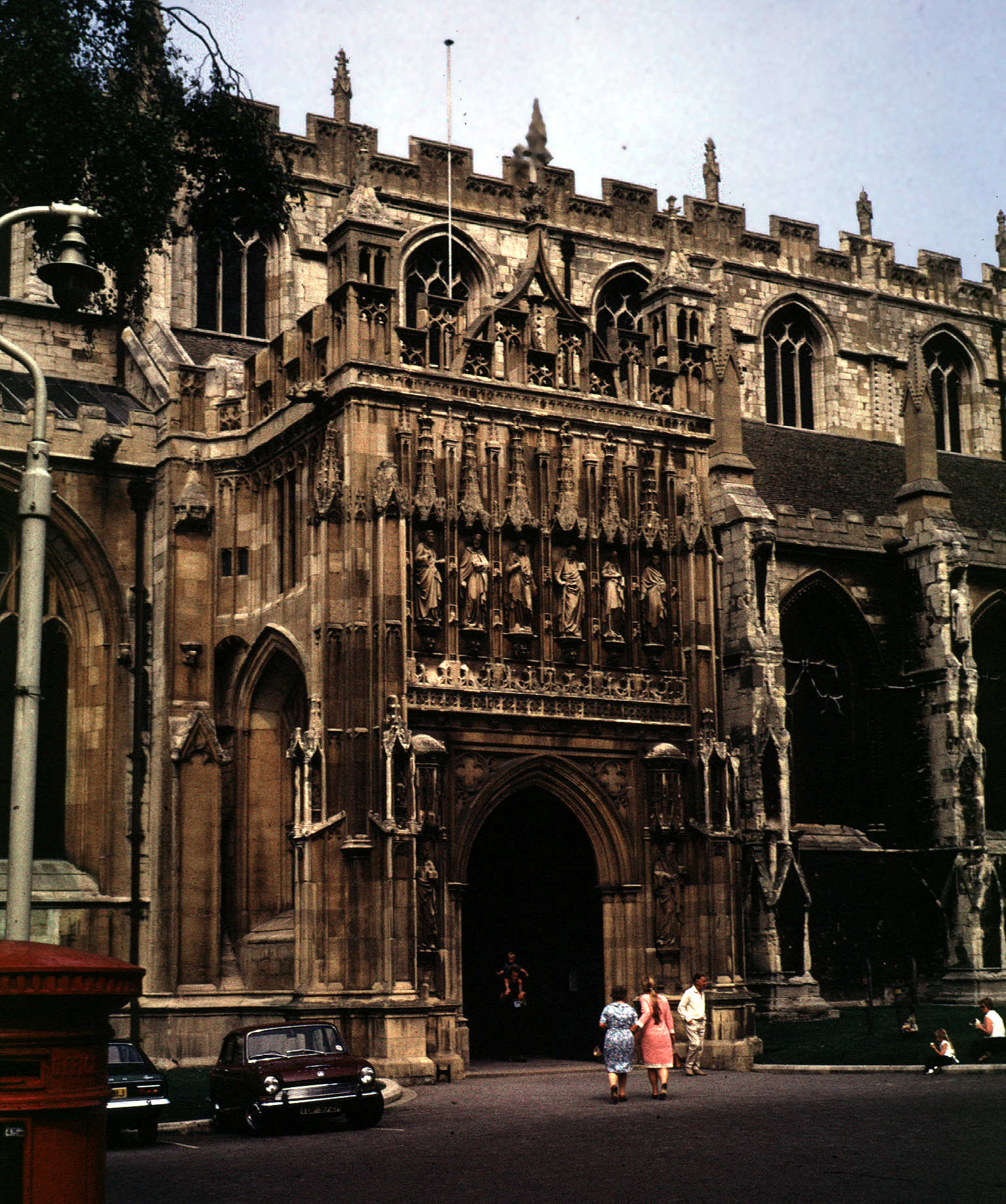 Exterior: Medieval Gloucester Cathedral