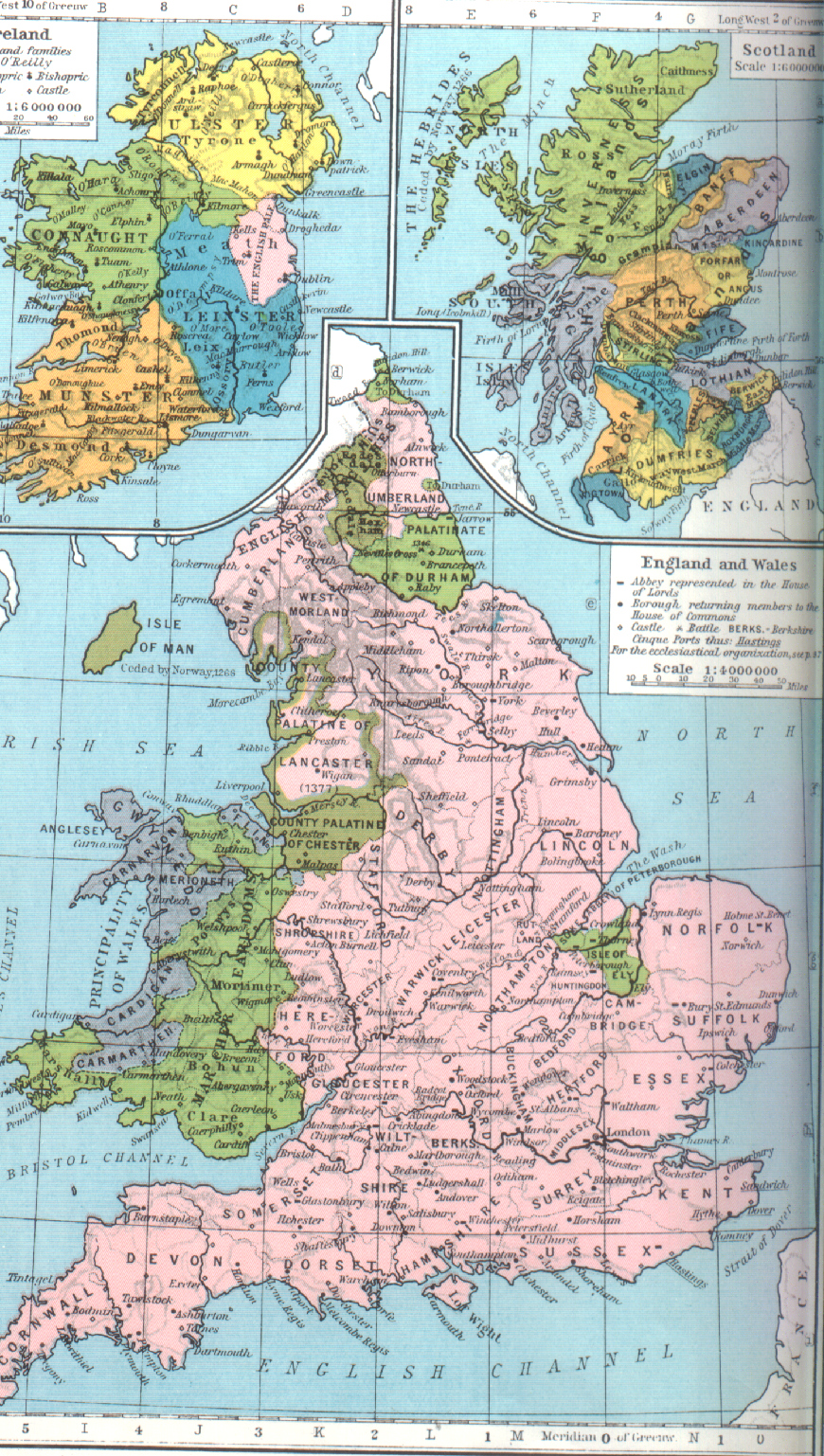 Meval Britain - General Maps on