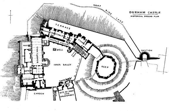 durham castle plan t01 s medieval durham castle