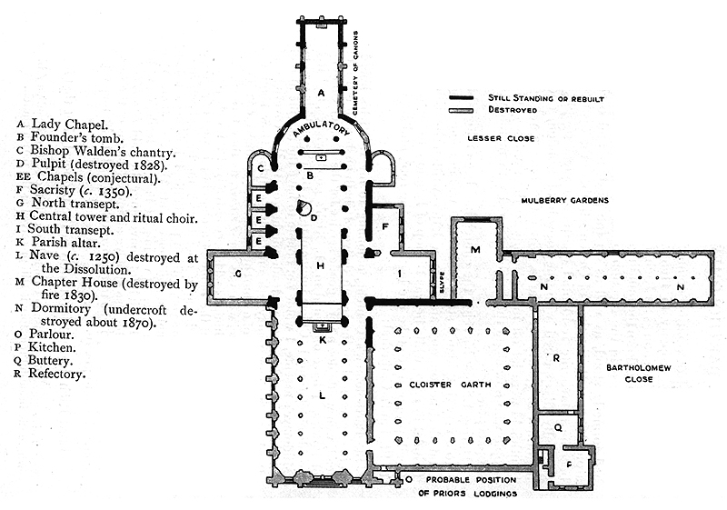 medieval priory of st  bartholomew-the-great