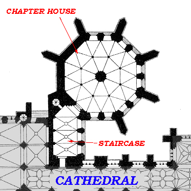 Medieval wells cathedral chapter house for South cathedral mansions floor plans