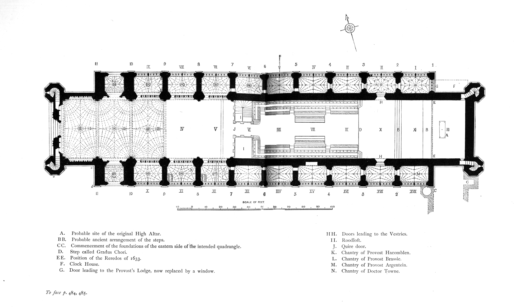 Medieval Cambridge King 39 S College Chapel Plans