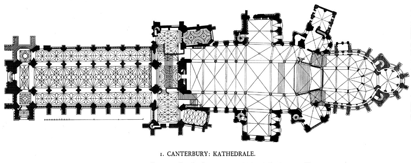 MEDIEVAL ART AND ARCHITECTURE Canterbury Cathedral Gothic Architecture