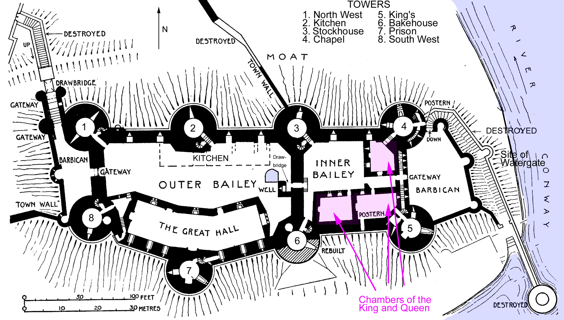 Medieval Castle Floor Plans Images Frompo