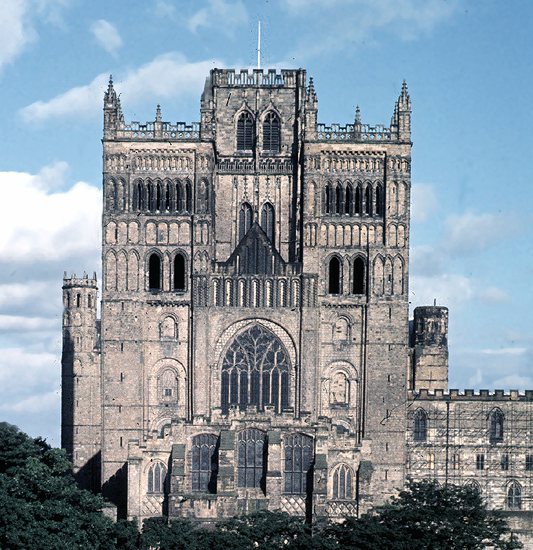 medieval durham cathedral exterior