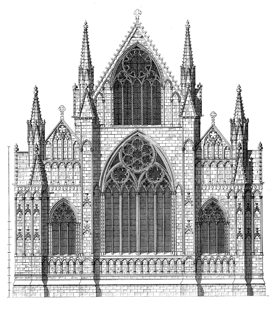 Dehio Plate 444 Elevation Of East End