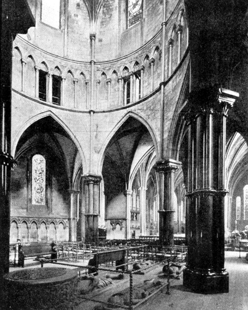 Medieval London: Architecture: The Temple Church