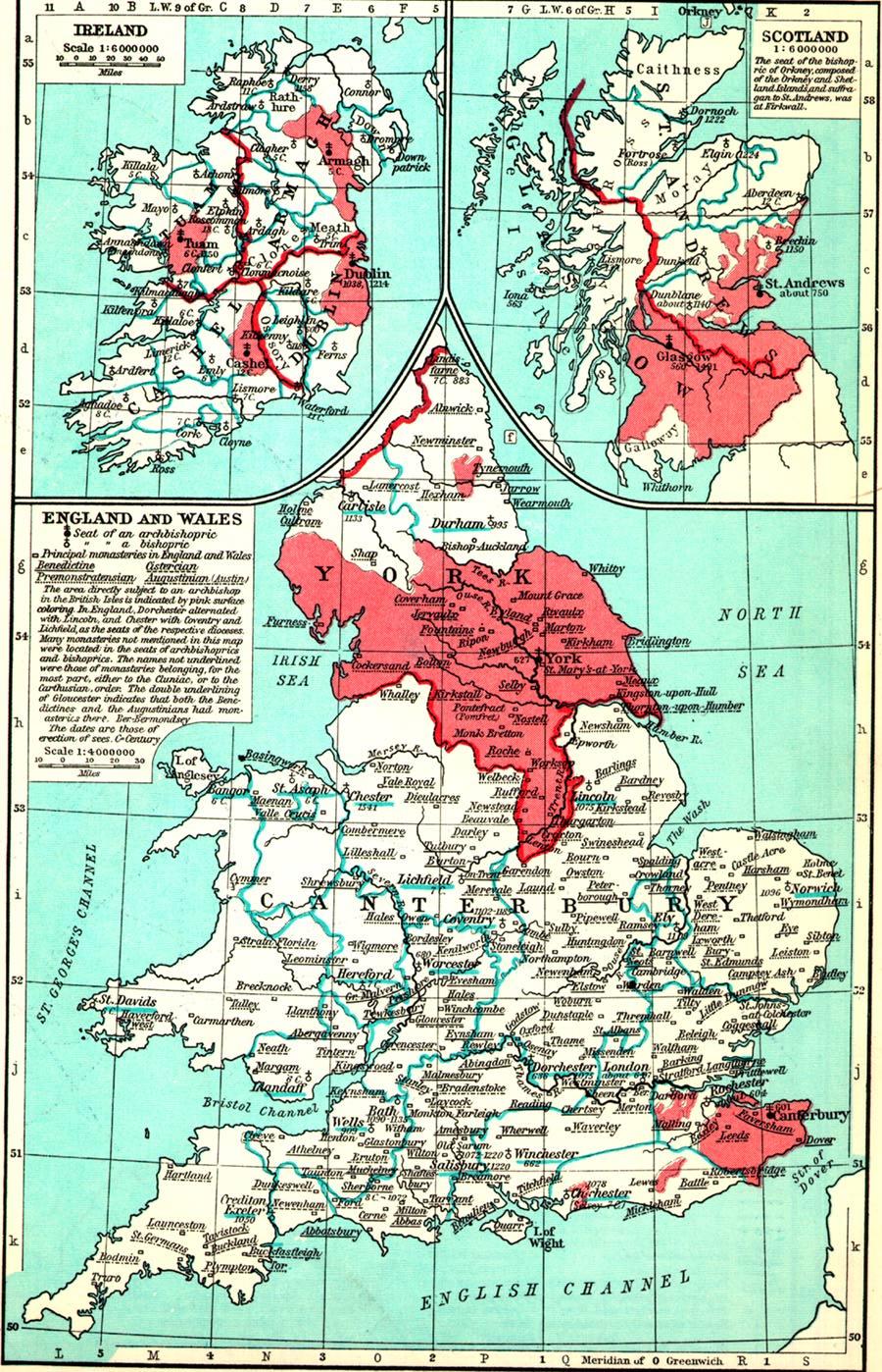 Medieval Britain General Maps