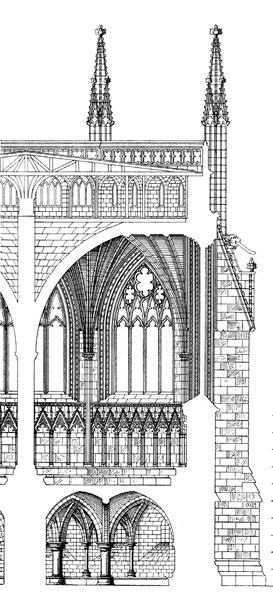 Medieval Wells Cathedral- Chapter House
