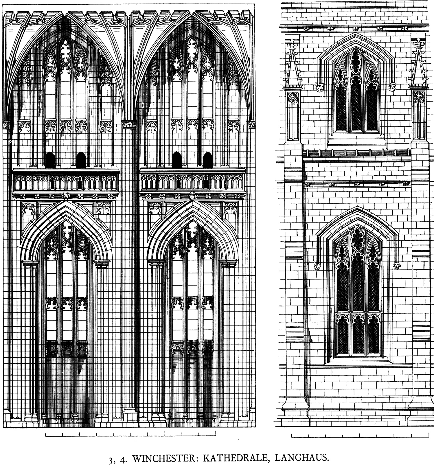 an overview of gothic architecture The most fundamental element of the gothic style of architecture is the pointed arch, which was likely borrowed from islamic architecture that would have been seen in spain at this time the pointed arch relieved some of the thrust, and therefore, the stress on other structural elements it then became possible to reduce the size of the columns.