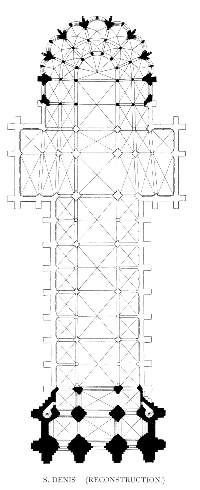 plan cule Saint-Denis