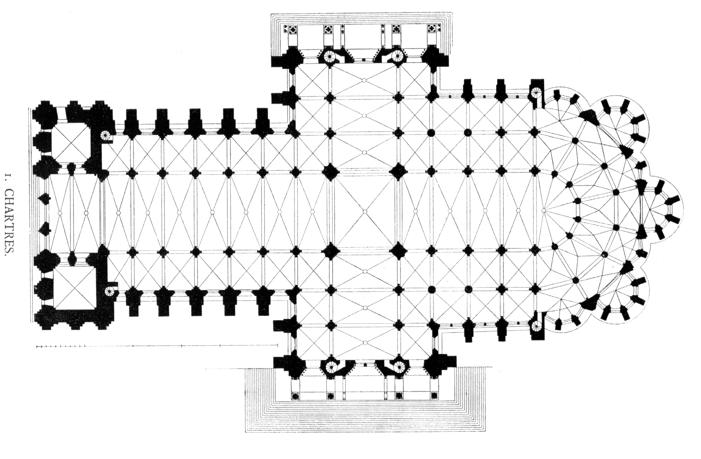 Chartres Cathedral Floor Plan Floorviews Co