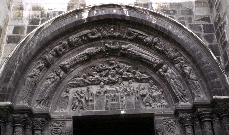 Medieval SaintDenis West FacadeSouth Portal  Tympanum