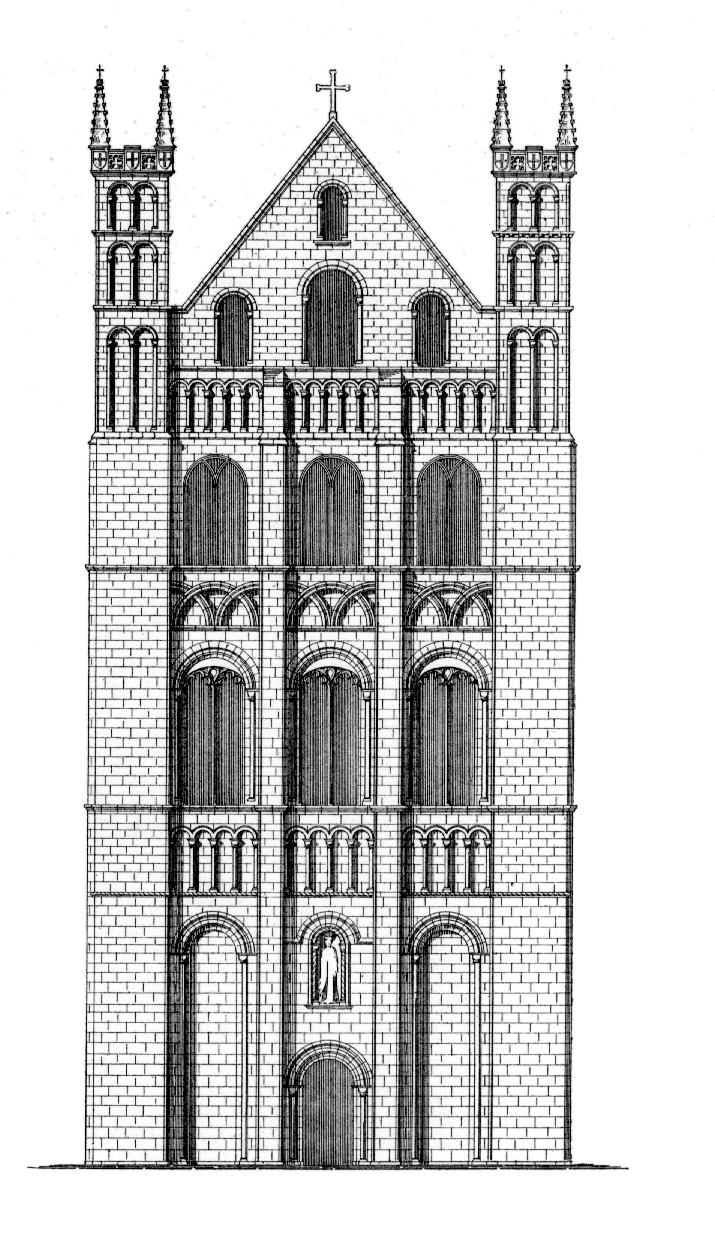 романский стиль в архитектуре картинки черно белые раскидистый куст требует